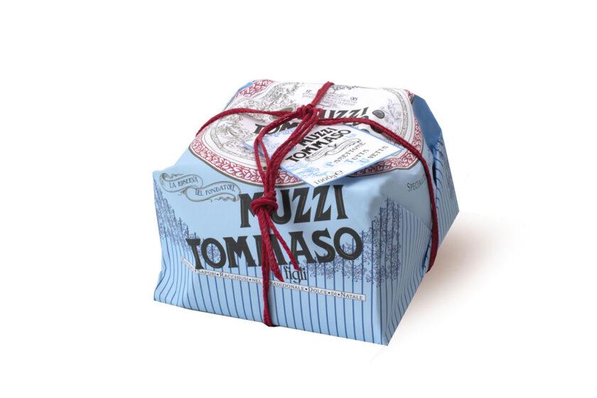 Panettone tutta uvetta linea vintage Tommaso Muzzi